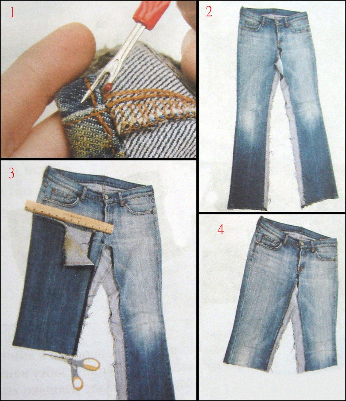 Джинсовую юбку сшить самой