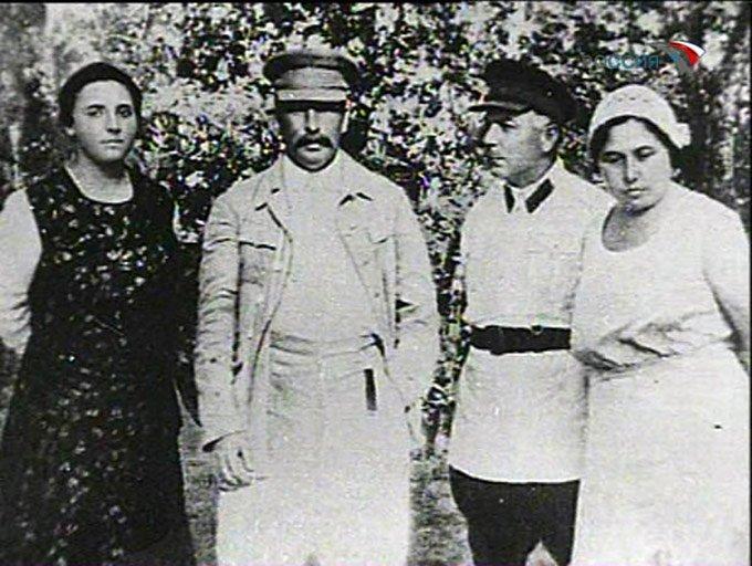 Жена Сталина – Надежда Аллилуева фото