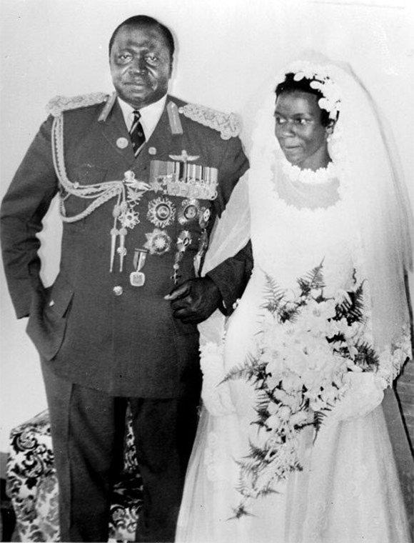Сара жена президента Уганды Дада Уме Иди Амин фото
