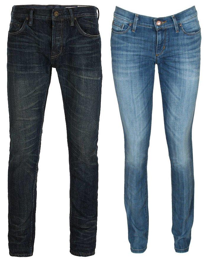 Как переделать старые джинсы в джинсы сигаретки фото