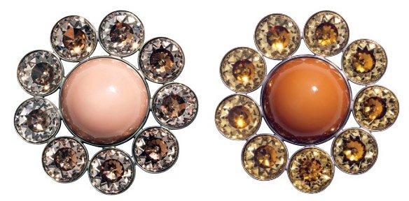 Гламурные пуговицы – украшения, фото