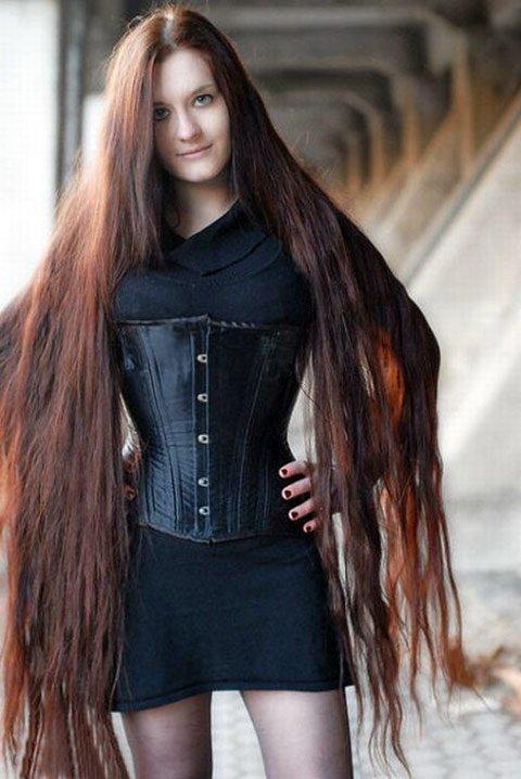 Сучки с длиним волос