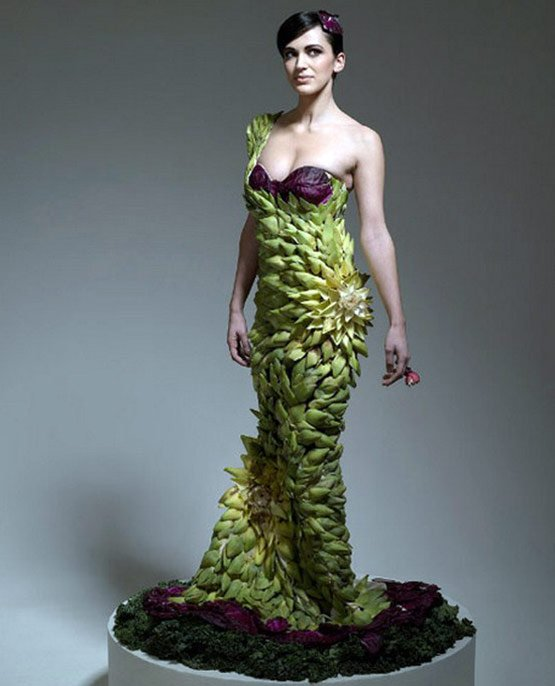 Платья для вегетарианцев, фото