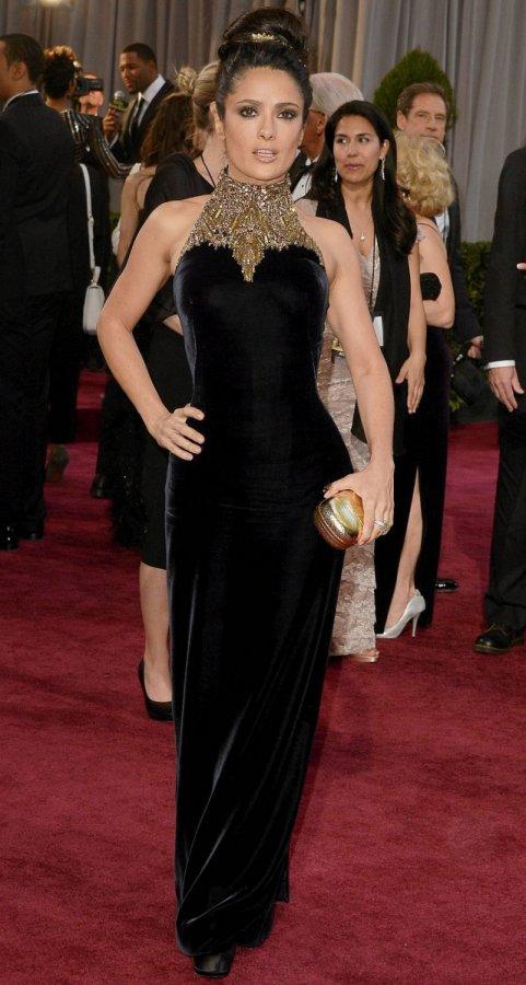 Фото с церемонии вручения награды Оскар, платье