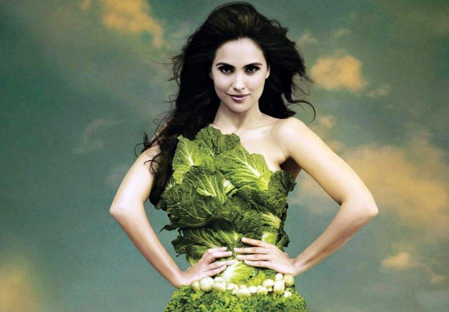 Мода на вегетарианство фото