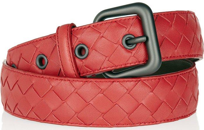 Кожаный ремень, Bottega Veneta, фото