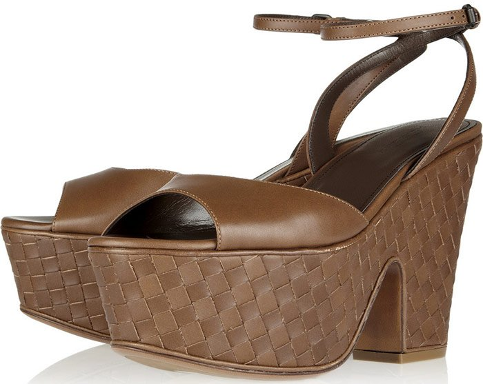 Обувь на платформе, Bottega Veneta, фото