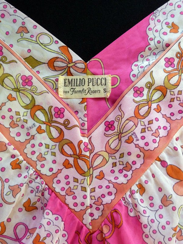 Винтажная одежда Emilio Pucci, фото