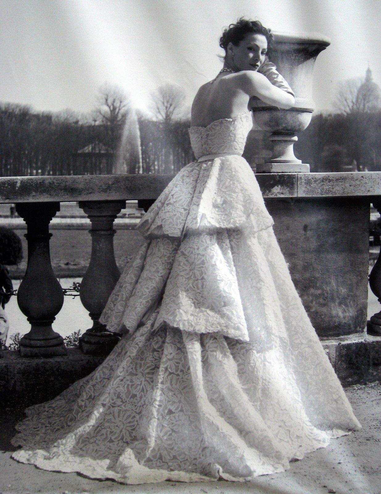 Свадебное платье от кристиана диора