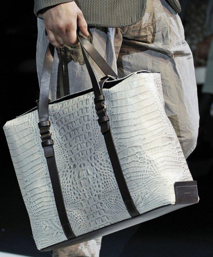 модные мужские сумки Giorgio Armani 2013, фото