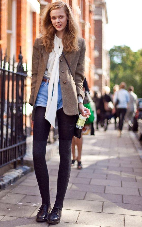 Фрида Густавссон фото на прогулке