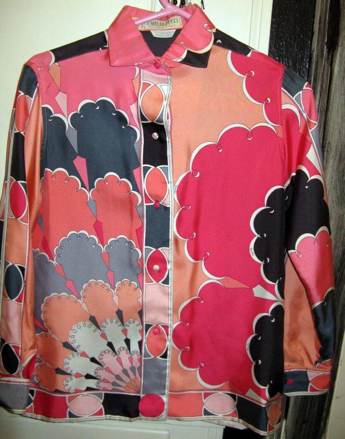 Винтажная блузка Emilio Pucci, фото