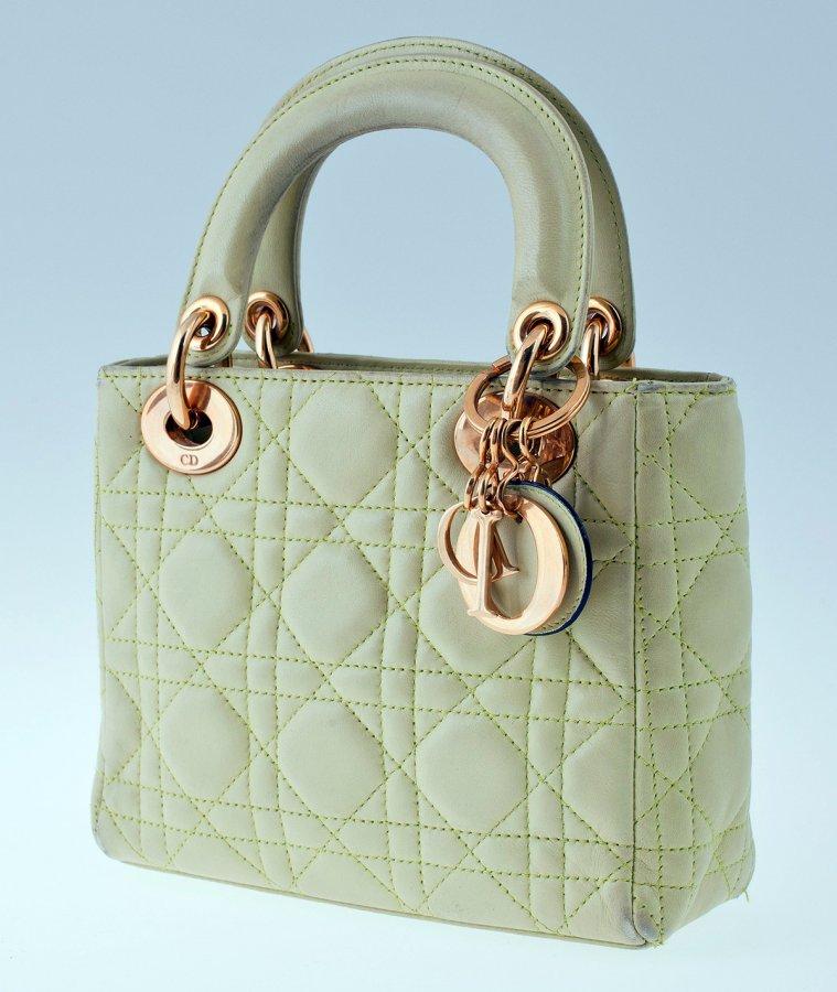 Винтажная сумка Christian Dior, фото
