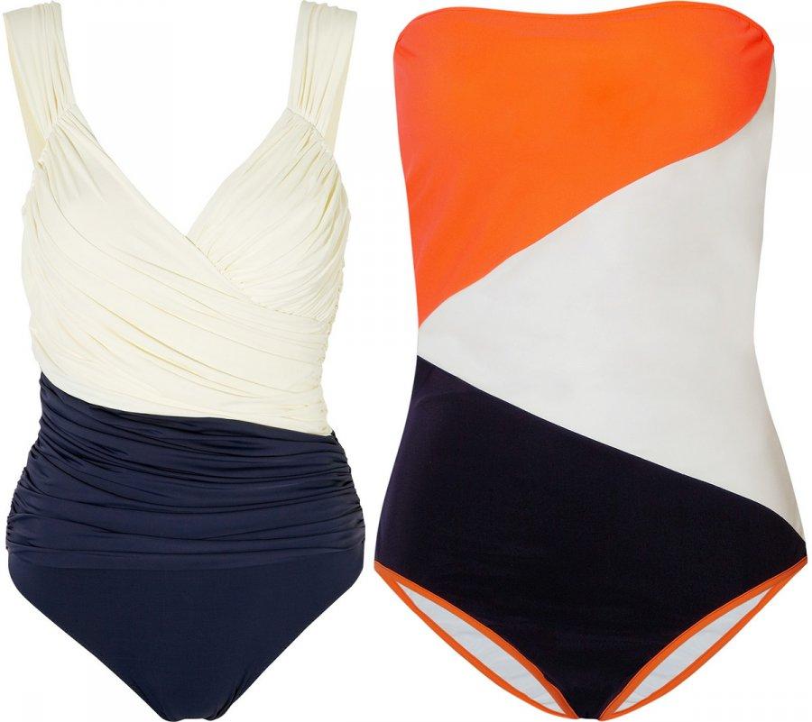 Цветовая гамма модных купальников 2013
