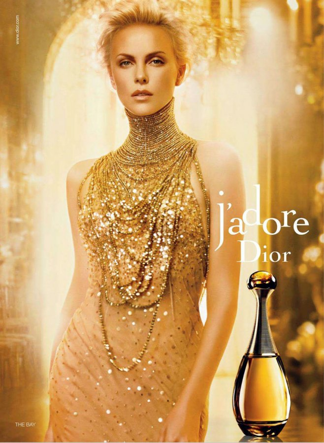 реклама ароматов Dior