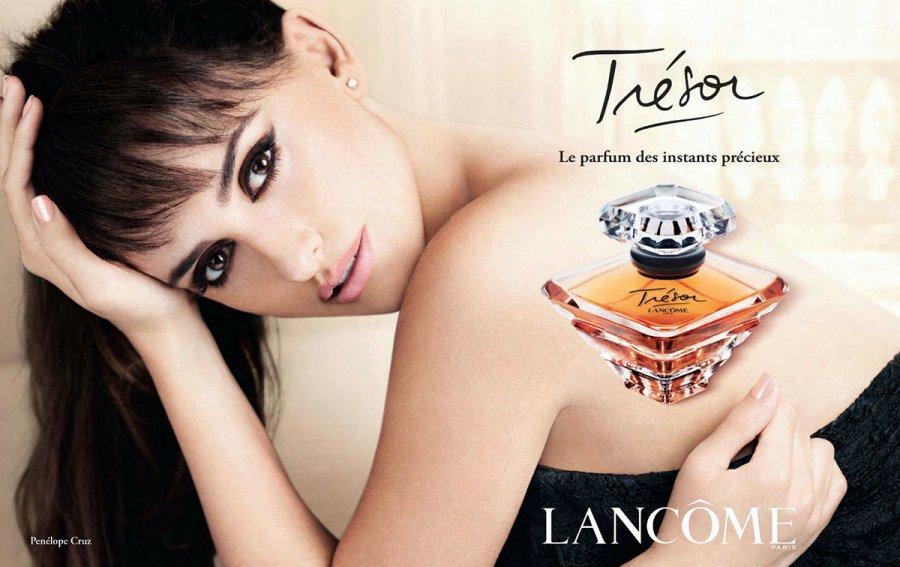 реклама ароматов Lancome