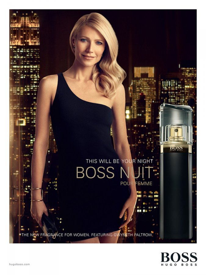 Фото из рекламной компании аромата