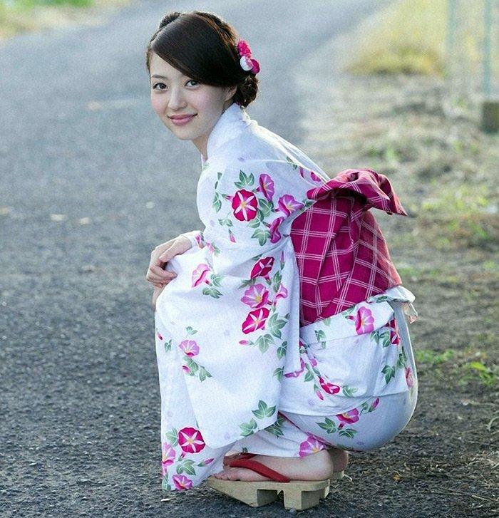 Японский стиль фото кимоно
