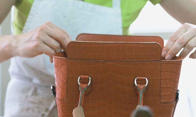 Изготовление сумки Herm?s фото