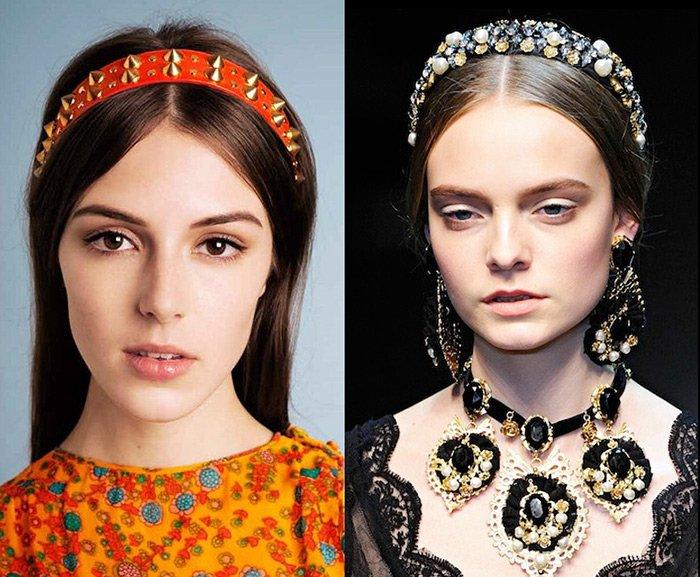 Модные украшения для волос 2013, фото