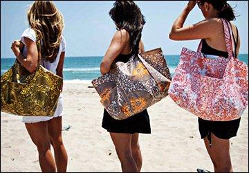 Летние сумки для пляжа