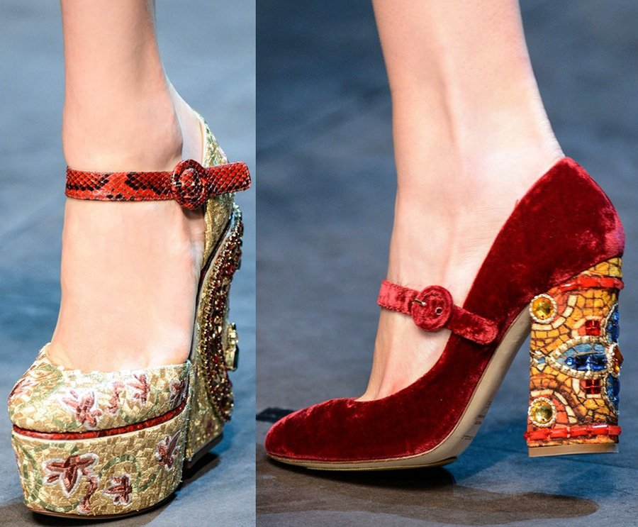 женская обувь Dolce & Gabbana 2013-2014 фото
