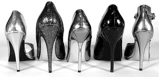 Туфли на высоких каблуках фото