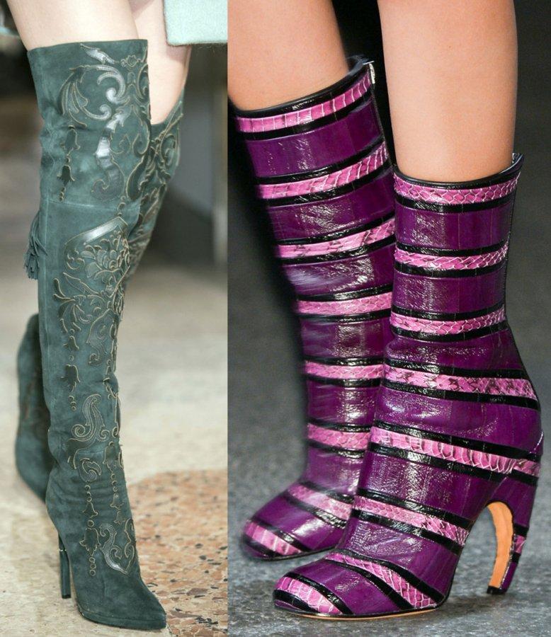 Женские Сапоги Emilio Pucci и Givenchy