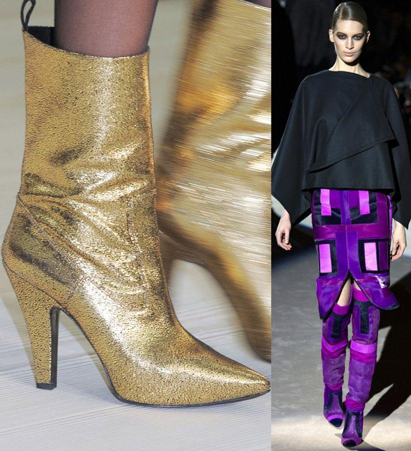 Модные сапоги Vivienne Westwood, Tom Ford