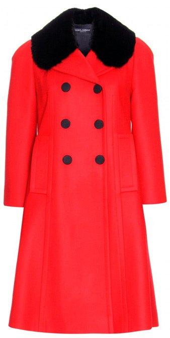 Пальто осень 2013 Dolce & Gabbana фото