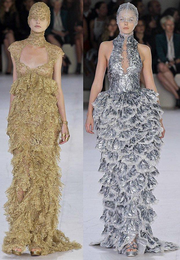 Самые красивые платья Alexander McQueen фото