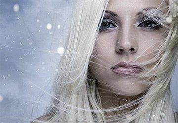 Волосы в холодное время