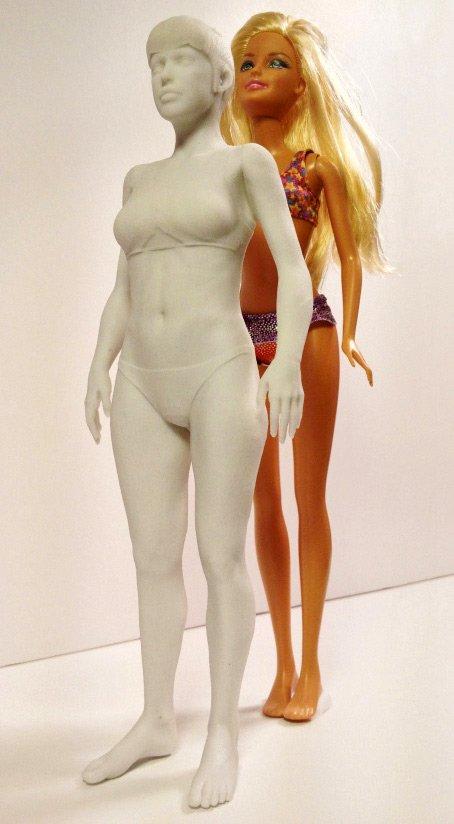 Барби и прототип реальной девушки