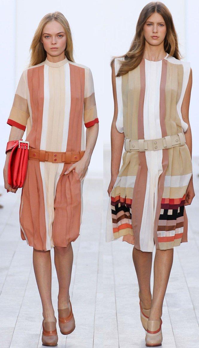 Коллекции платьев от chloe 2012