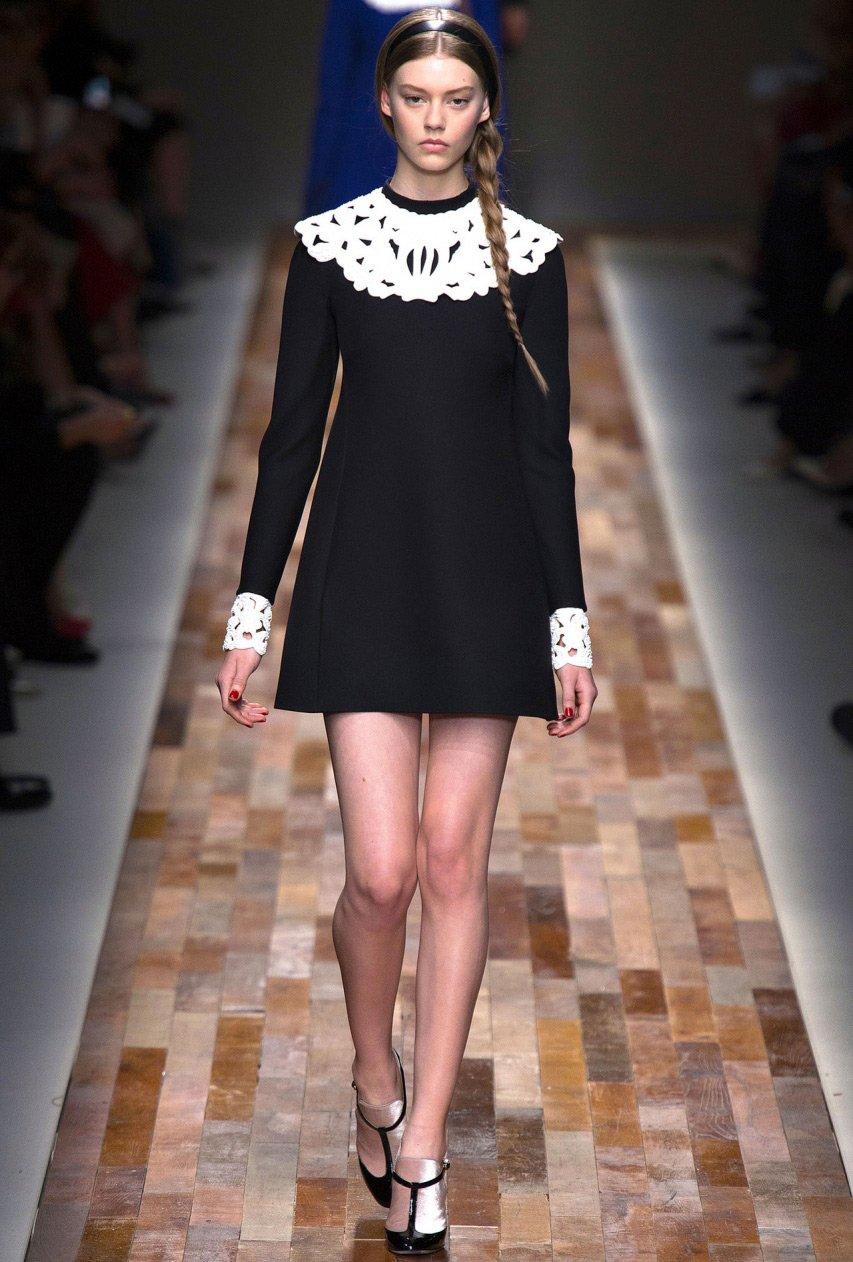 Модели воротника для платья