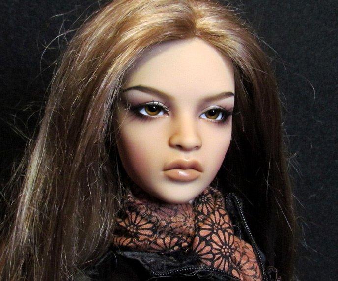 БЖД кукла в сменном парике, фото