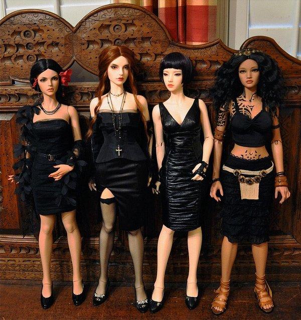 Четыре подружки, фото