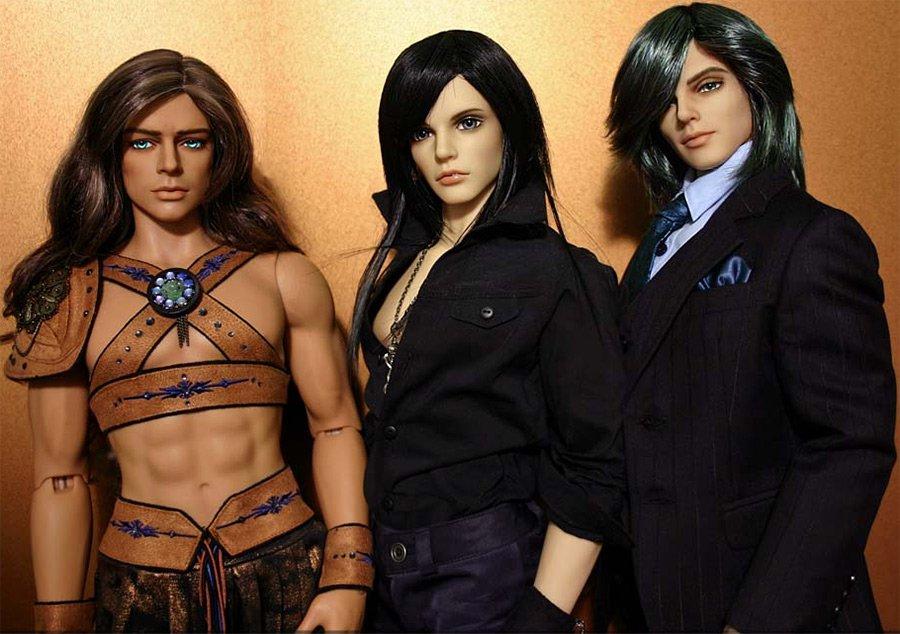 Мальчики БЖД куклы, фото