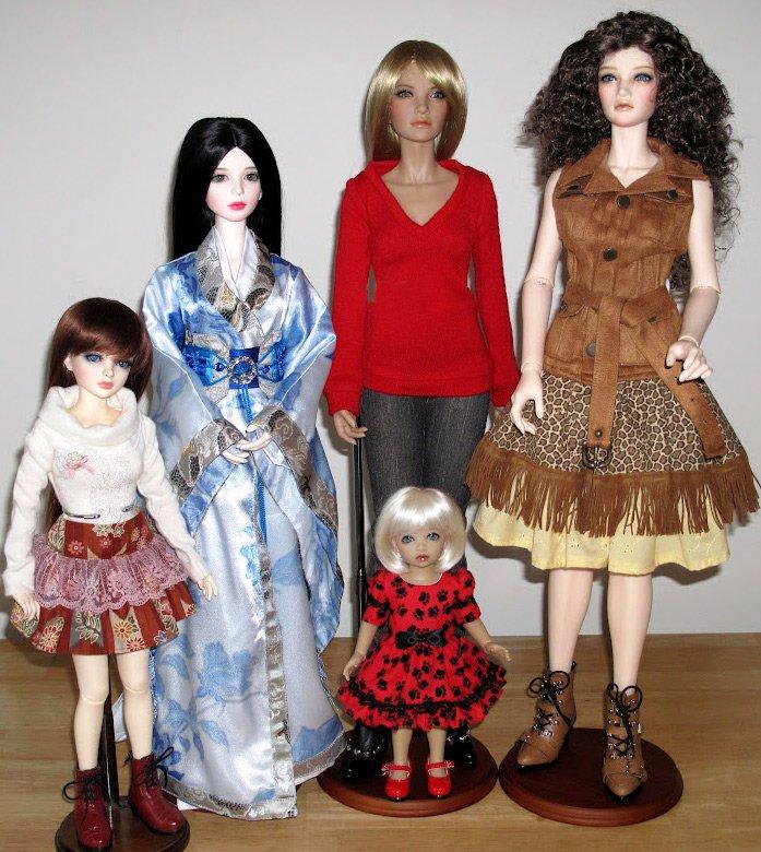 Семейство кукол, фото