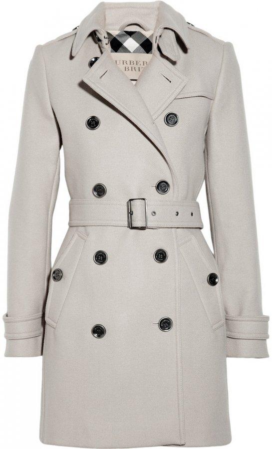 Однотонное пальто осень 2013, фото