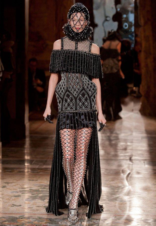 Alexander McQueen, фотография платья