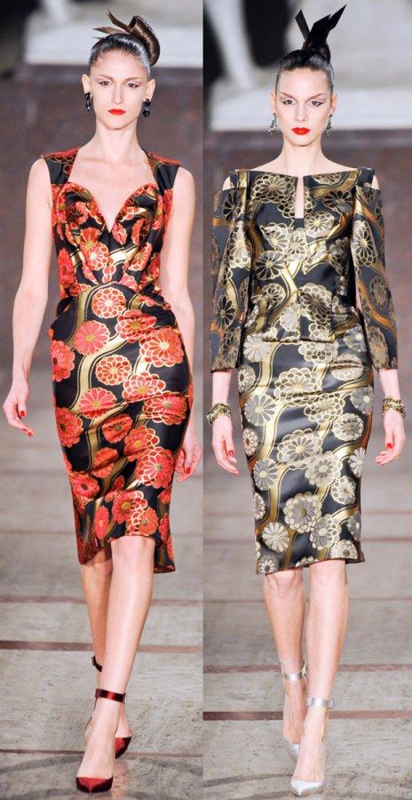 Самые красивые платья Зак Позен, фото