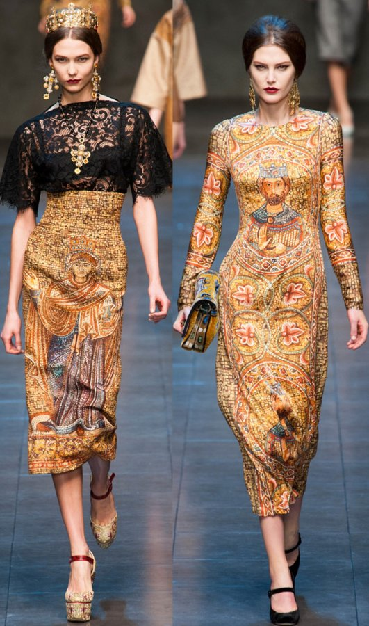 Dolce & Gabbana осень-зима 2013-2014, фото коллекции