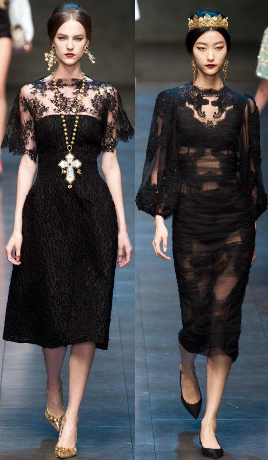 Dolce & Gabbana осень-зима 2013-2014 фото