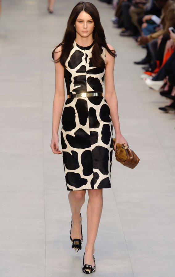 платье 2013-2014 Burberry Prorsum