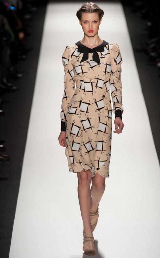Модное платье Carolina Herrera, фото