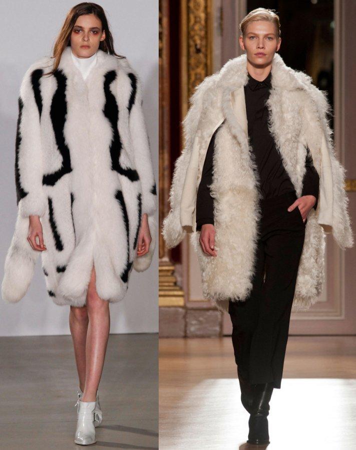 Модные женские шубы 2013-2014, фото