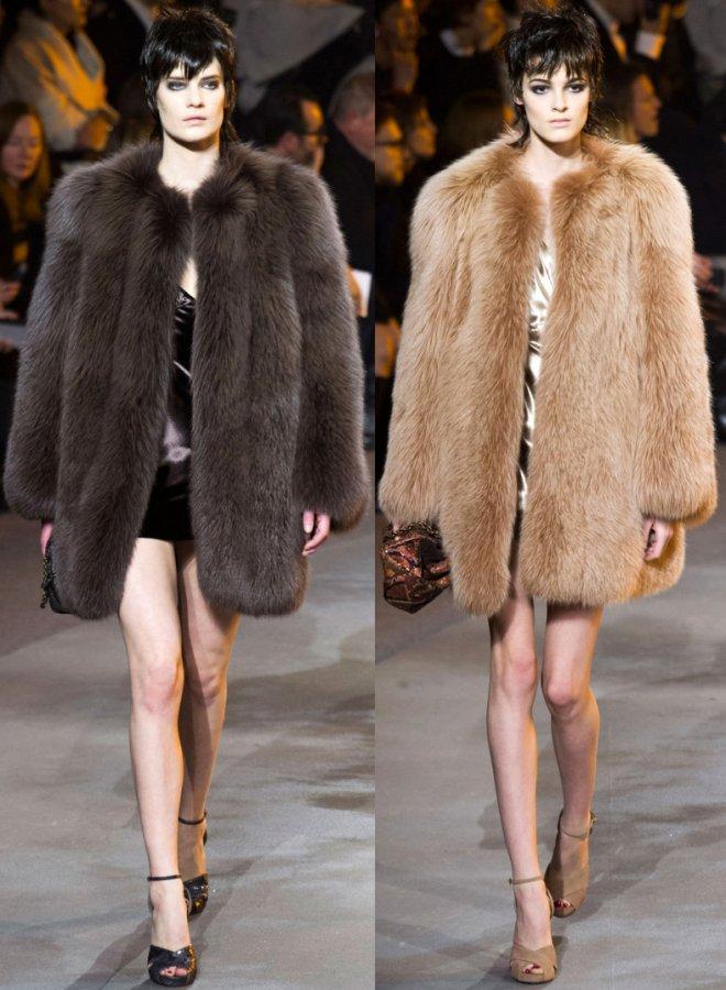 модные шубы Marc Jacobs