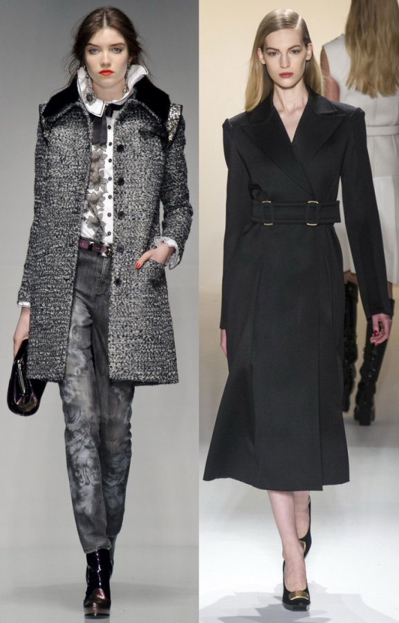 Пальто осень – зима 2013 – 2014 – модели нового сезона