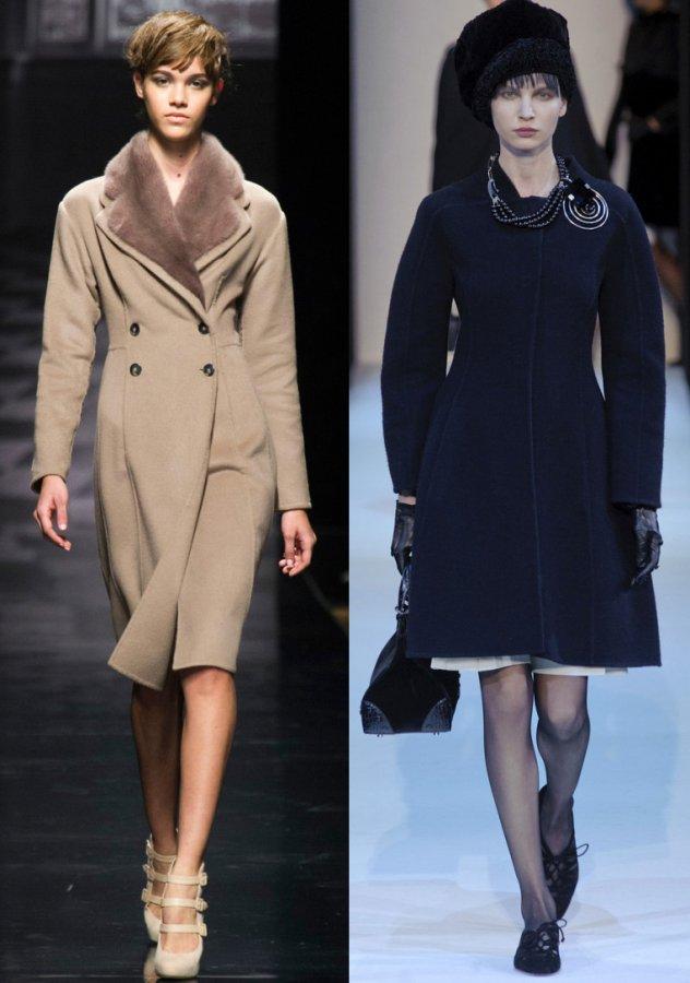 женские пальто осень зима 2013 – 2014, фото
